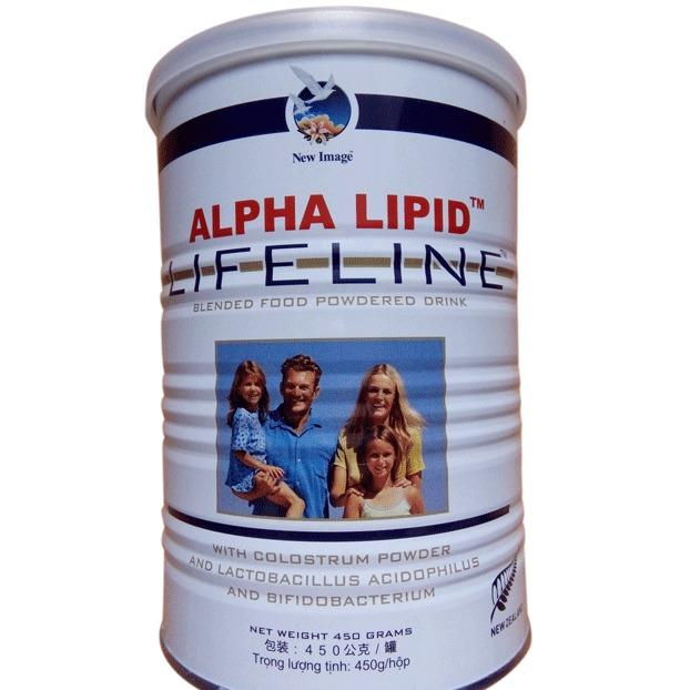 Sữa Non ALPHA LIPID lifeline (450g)+ Tặng ly sữa lắc