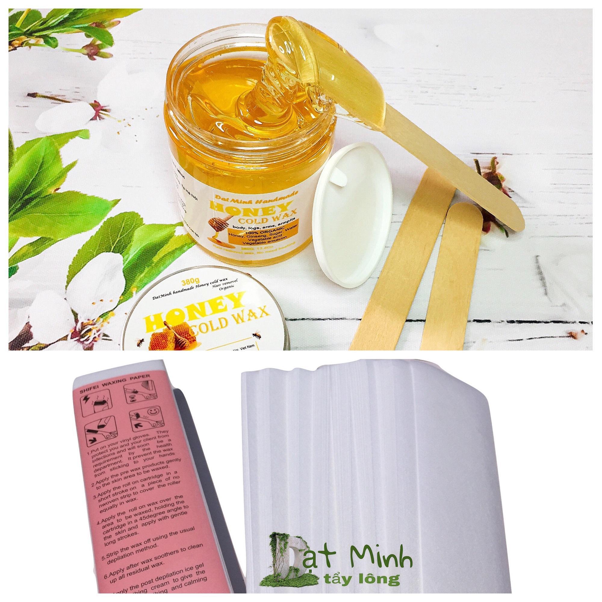 Wax Tẩy Lông tại nhà với sáp mật ong ĐạtMinh. tốt nhất