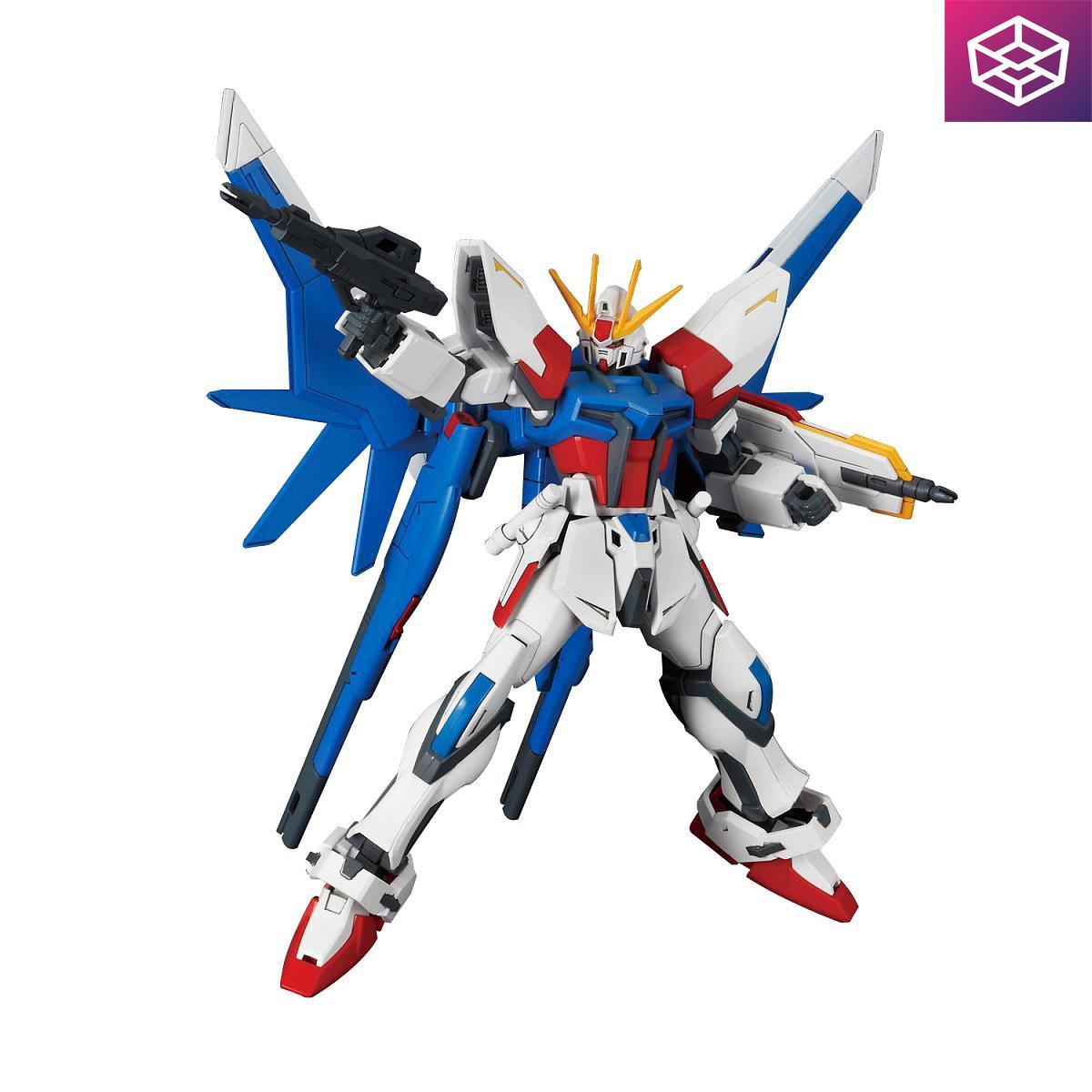 Mô Hình Lắp Ráp Gundam Hgbf Build Strike Full Package [3gd] By Box8.