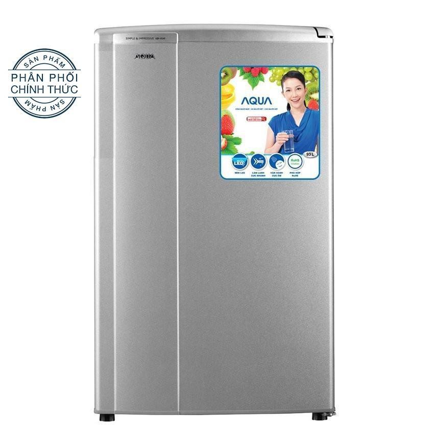 Hình ảnh Tủ lạnh 1 cửa Aqua AQR - 95AR(SS) 90L (Bạc)