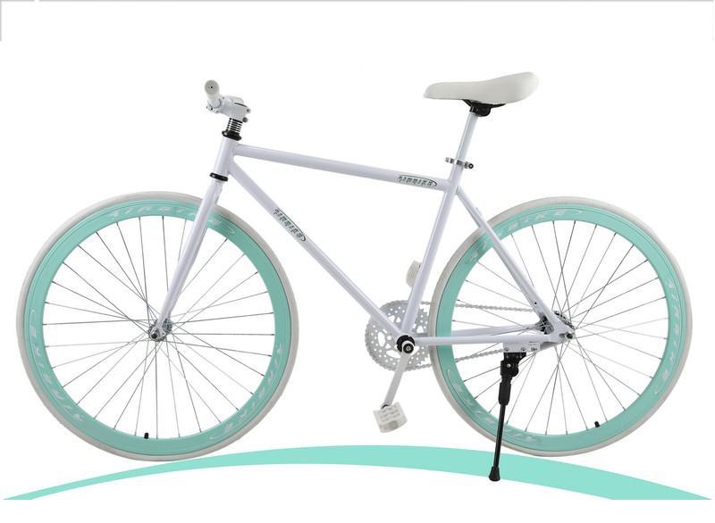 Xe đạp Fixed Gear Air Bike MK78 (trắng)