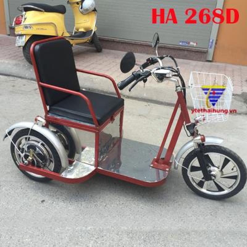 Xe lăn điện giá rẻ cho người già, người khuyết tật HA 268B nhập khẩu
