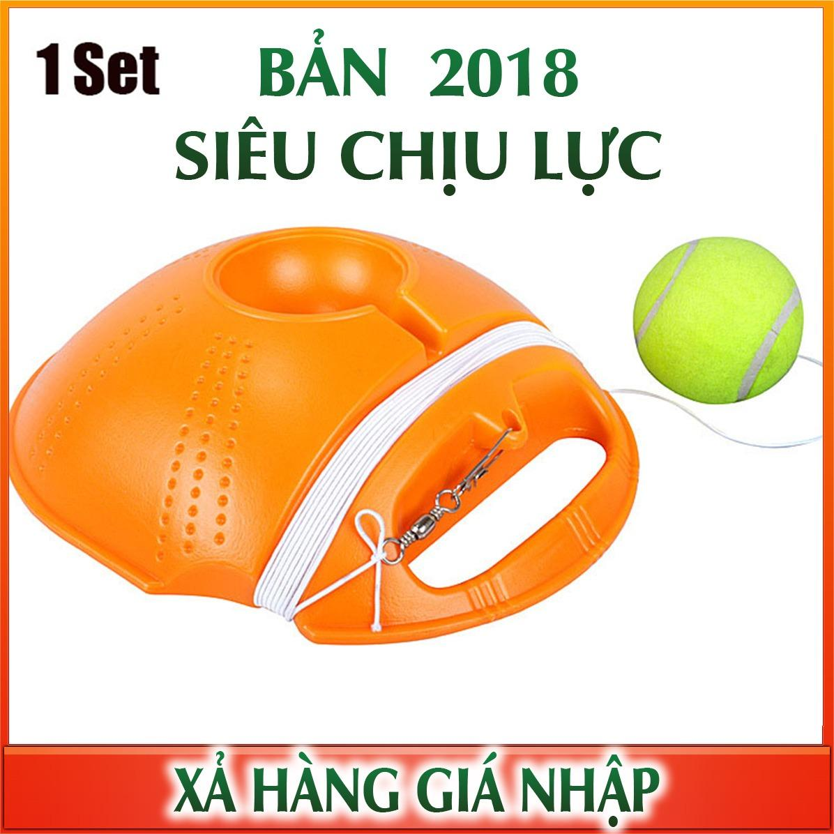 Hình ảnh Dụng cụ học Tennis - Tennis Ball - Tự học Rebound Với Tennis Trainer Baseboard
