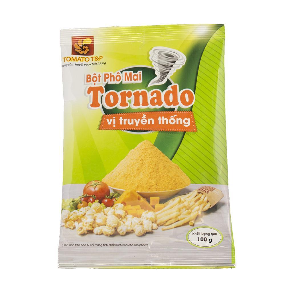 [HCM]Bột phô mai Tornado vị truyền thống gói 100g