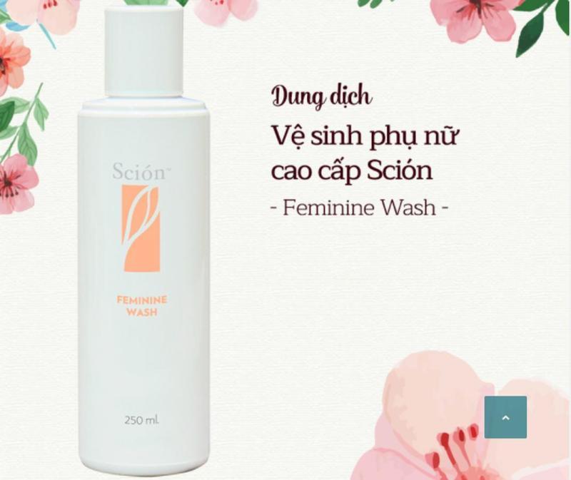 Bán buôn bán lẻ Dung Dịch Vệ Sinh Phụ Nữ Scion Nuskin Feminine Wash nhập khẩu