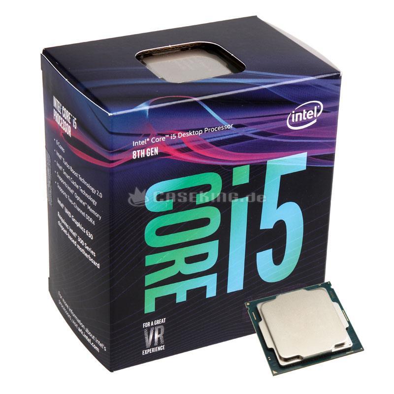 Hình ảnh Bộ vi xử lý CPU Intel Core I5 8400 (2.8GHz up to 4.0GHz/ 6C6T/ 9MB/ 1151v2-CoffeeLake)