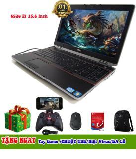 Dell E6520 i7 15.6 Ram 8GB SSD 128GB chơi game + lập trình + đồ họa ổn tặng kèm tay chơi game thumbnail