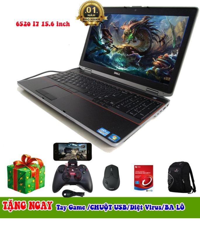 Dell E6520 i7 15.6 Ram 8GB SSD 128GB chơi game + lập trình + đồ họa ổn tặng kèm tay chơi game