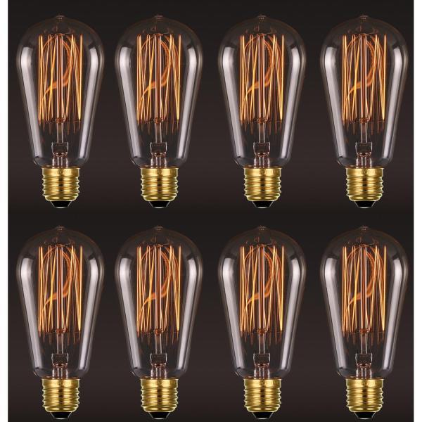 8 Bóng đèn Edison Vintage Bulb 40W E27 220V