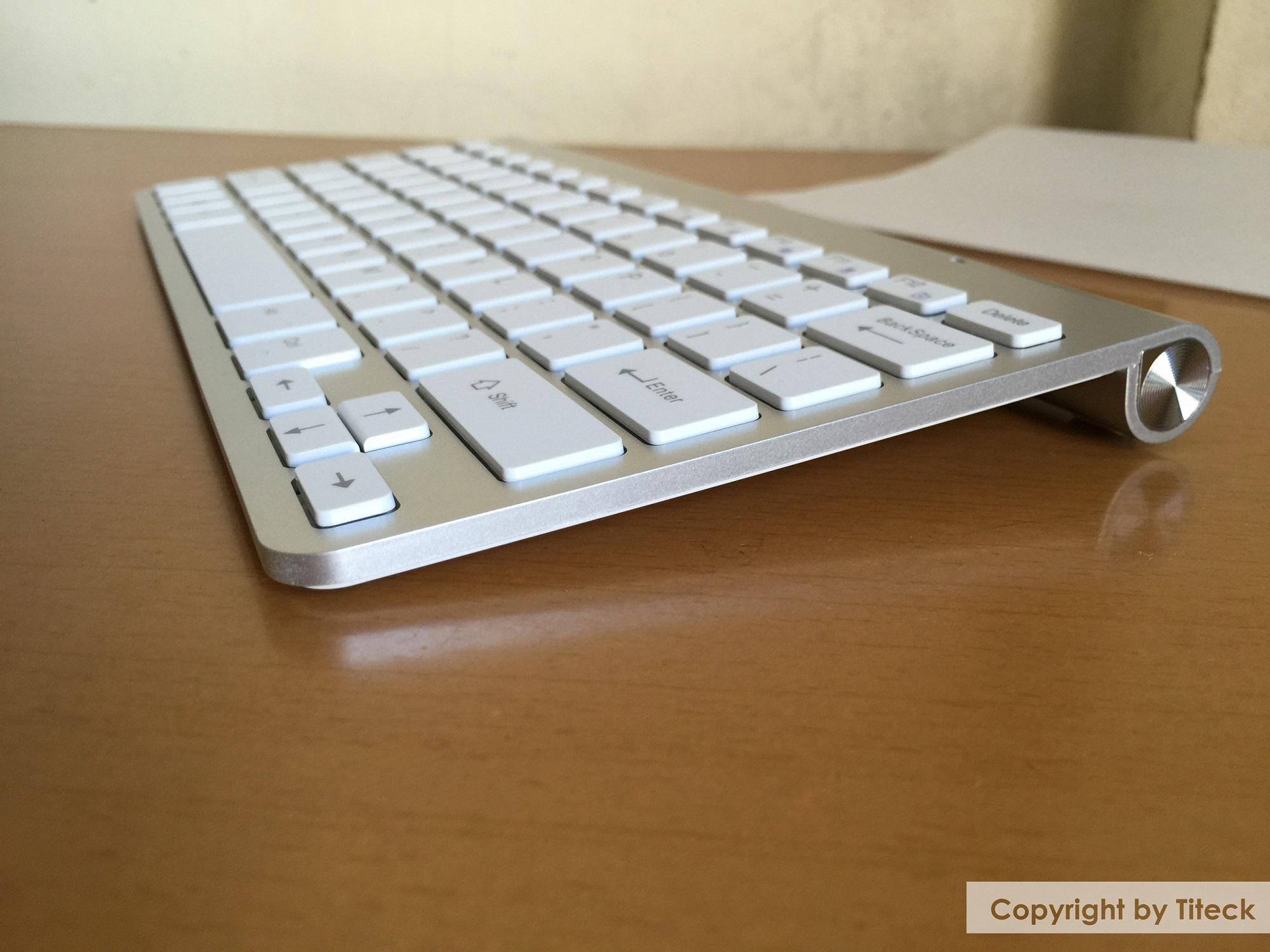Bàn phím không dây cao cấp dùng cho laptop, PC, Smart TV