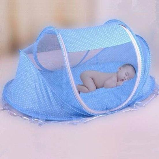 Man Mung Ngủ Chống Muỗi Cho Be Happy Baby Nệm Gối Phat Nhạc Xanh Rẻ