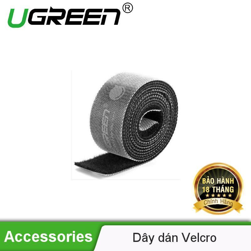 Dây Dán Velcro Tiện Dụng Màu Xám Dài 5m Ugreen 40356 - Hãng Phân Phối Chính Thức By Ugreen Official Store