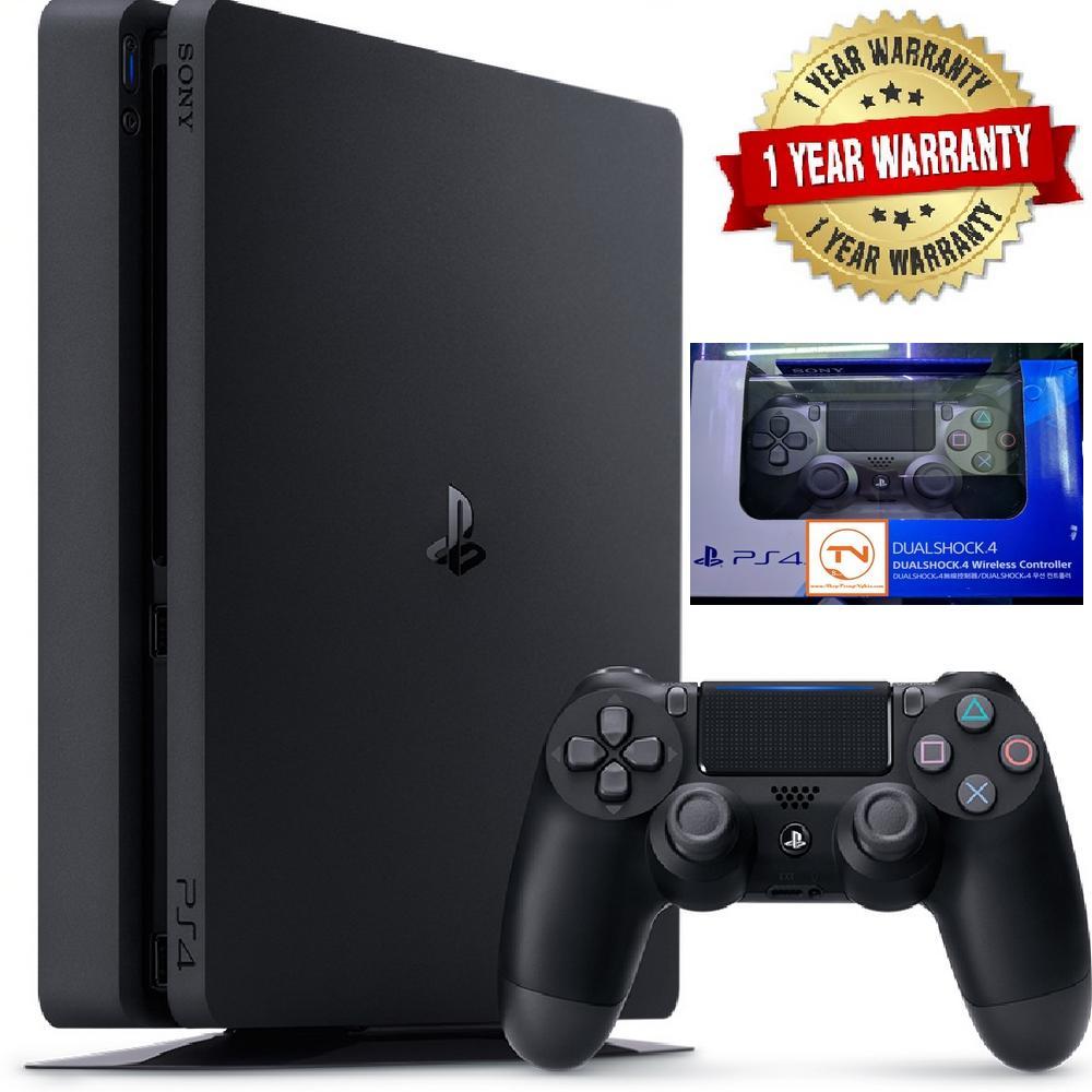 Hình ảnh Combo Sony PS4 Slim [Bảo Hành 1 Năm] + 2 Tay Cầm