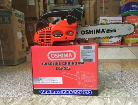 Máy cưa xích Oshima OS 25( công suất 0,8kw)