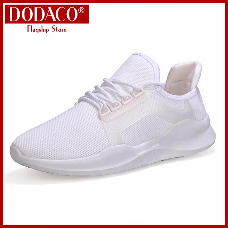 Hình ảnh DODACO DDC2083 7811802 Giày sneaker giày sneaker nam nữ giày thể thao nam nữ giày thời trang nam nữ giày cặp đôi giày giá rẻ giày đẹp khử mùi thoàng khí Màu Đen Đỏ Trắng Xám