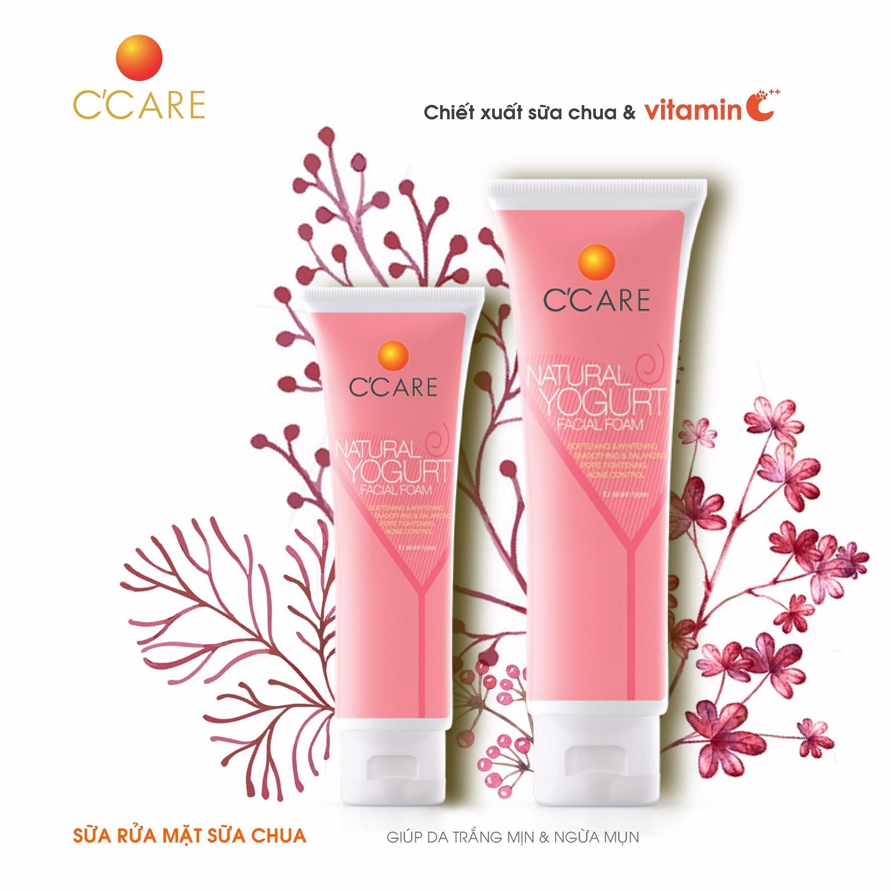 Hình ảnh C'Care Sữa rửa mặt Sữa chua 50g - Chiết xuất sữa chua và Vitamin C