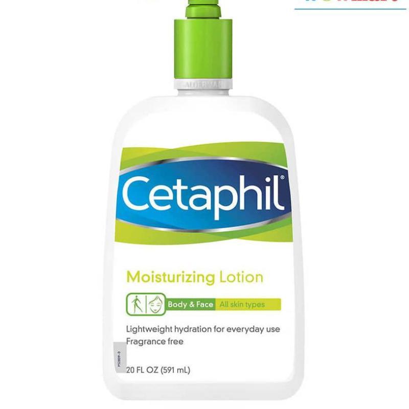 Sữa dưỡng ẩm toàn thân Cetaphil Moisturizing Lotion Body & Face 591ml