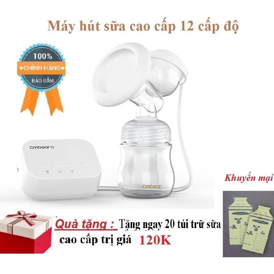 Bán May Hut Sữa Điện Đơn 12 Cấp Độ Co Maxa Silicon Nguồn Điện Bằng Usb Tặng Kem20 Tui Trữ Sữa Honey Care Hà Nội