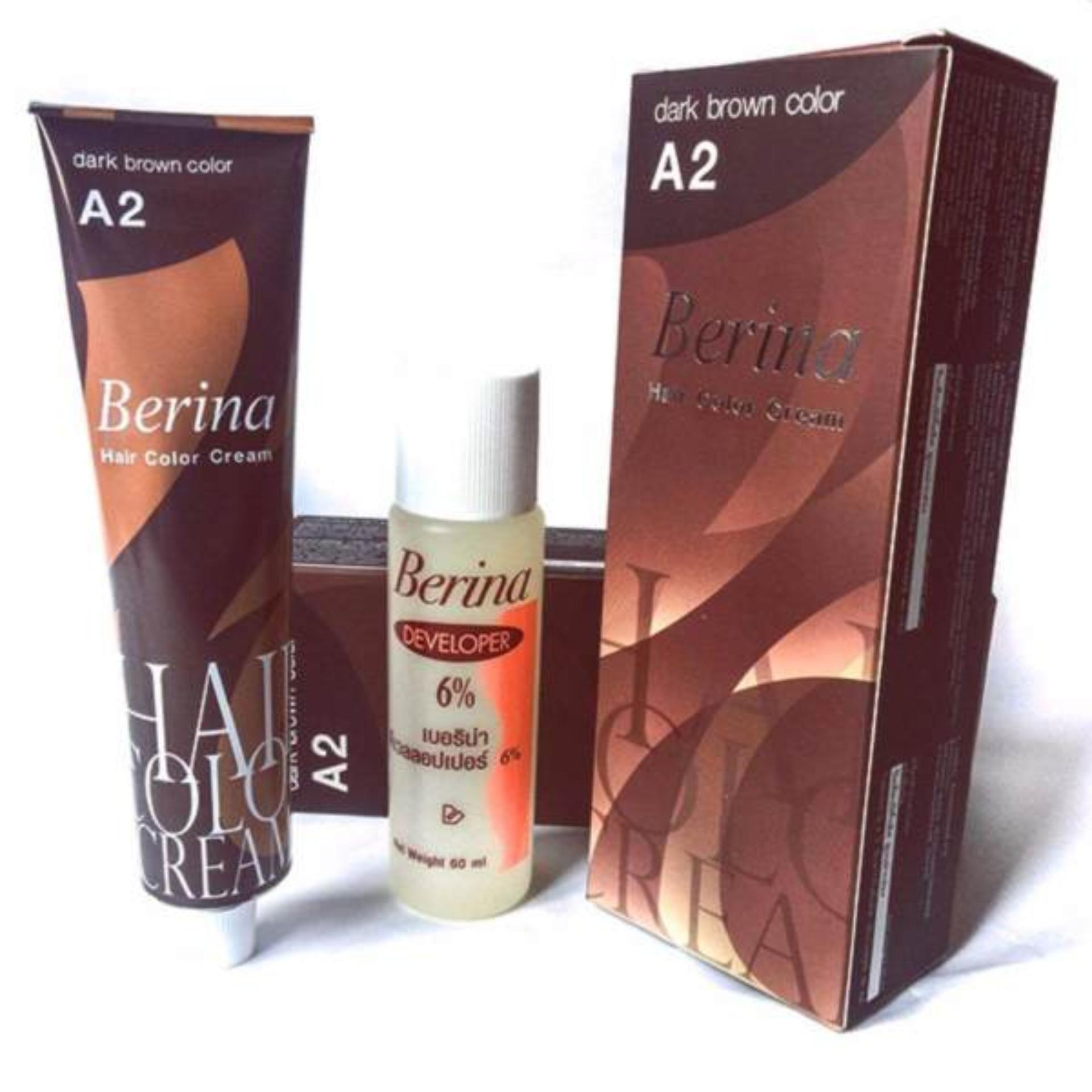 Thuốc nhuộm tóc Berina Thái Lan ( Nâu)