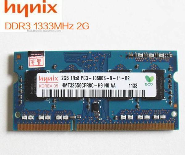 Bảng giá Ram Laptop Samsung Hynix DDR3 2GB PC3 - Buss 1333 Mhz bảo hành 3 năm Phong Vũ