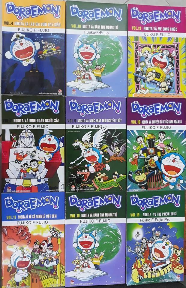 Mua Combo 10 truyện tranh Doraemon - loại truyện dài