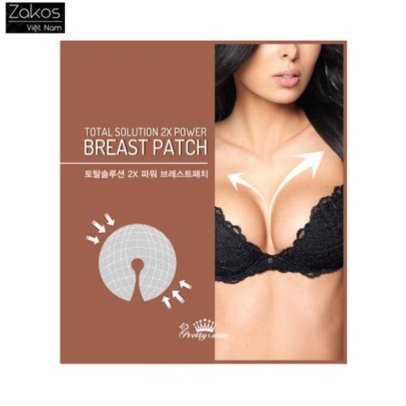 Mặt nạ cho ngực Pretty Skin Total Solution 2X Power Breast Patch - 1pack (1 gói 2 miếng) cao cấp
