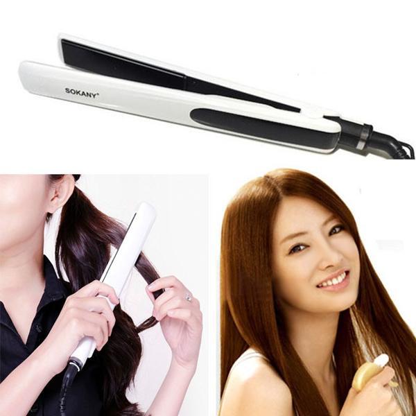 Máy duỗi tóc thẳng tóc , máy kẹp tóc Sokany 026 siêu bền