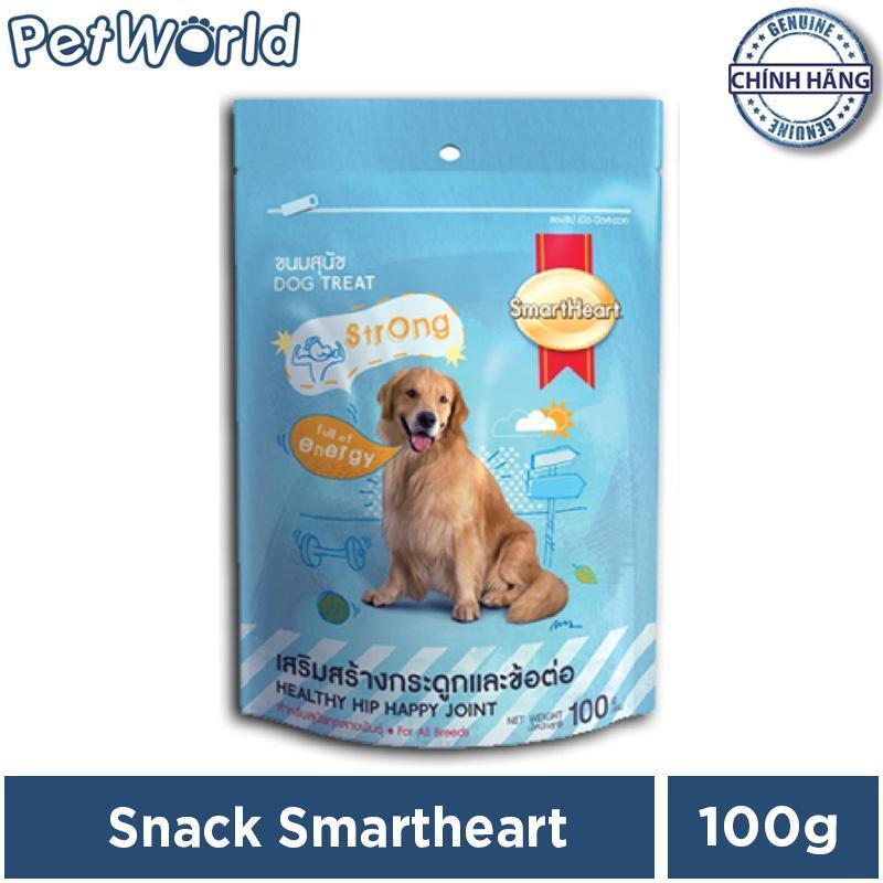 Bánh snack SmartHeart Giúp Hông & Khớp Chắc Khoẻ Cho Chó 100g.