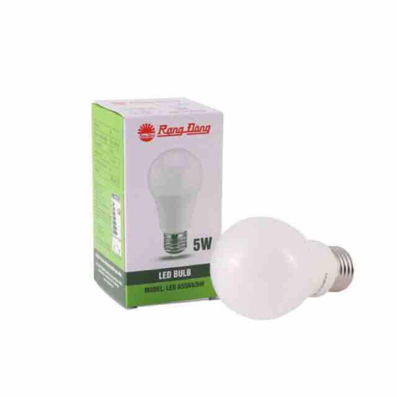 Combo 5bóng đèn Led tròn 5W Rạng Đông ánh sáng trắng / vàng