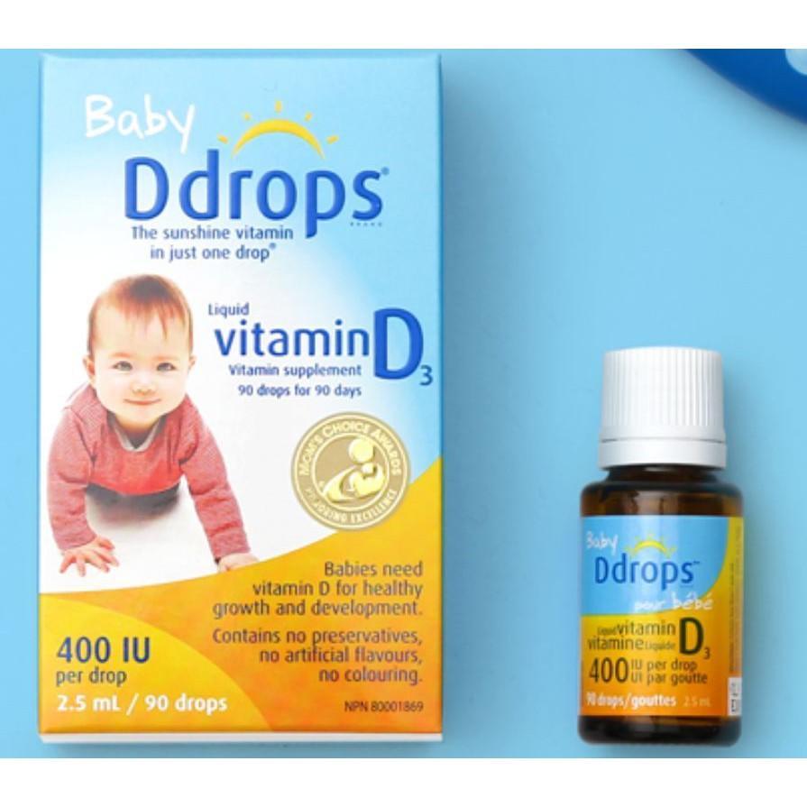 Vitamin D3 Ddrops 400IU