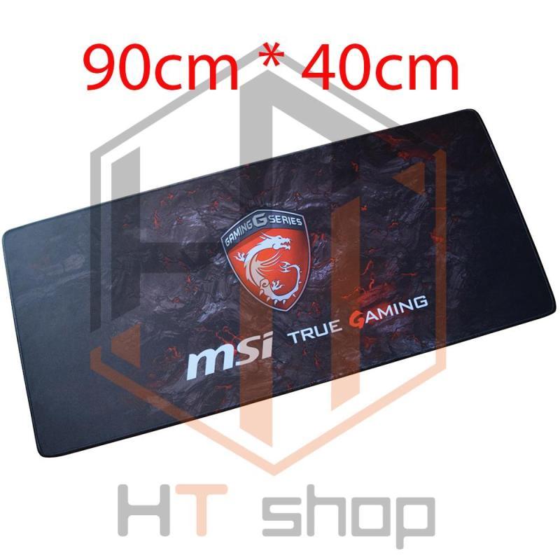 HT.fashion - Bàn di chuột MSI (pad MSI) khổ lớn 90cm x 40cm