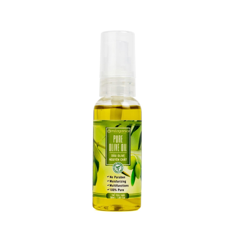 Dầu Olive Milaganics 50ml nhập khẩu