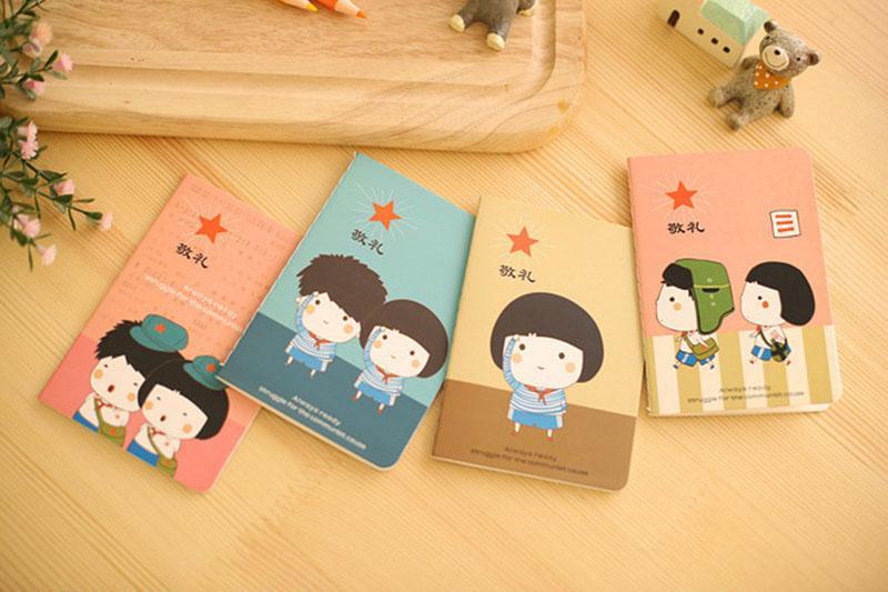 Mua Combo 10 cuốn sổ tay mini kute + Tặng kèm thẻ tích điểm tại gian hàng