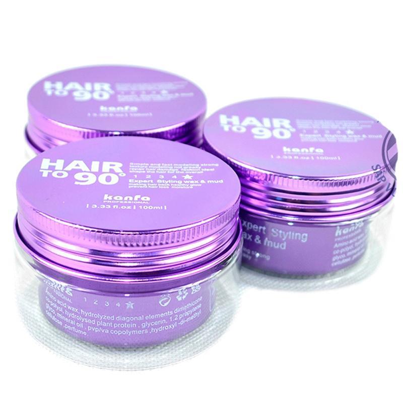 Sáp vuốt tóc dễ dàng tạo lại kiểu Hair To 90 Wax 100ml (Màu tím) tốt nhất