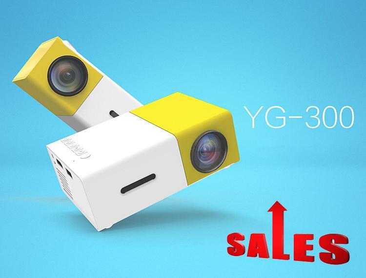 Hình ảnh Gia may chieu mini,Máy chiếu màn hình LCD TFT HD1080 YG300 MINI LED kết nối nhanh chóng với các thiết bị Laptop, Smarphon, máy ảnh,….sale lớn 50%..4,