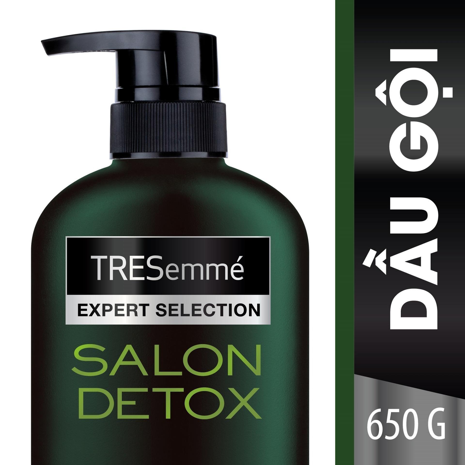Dầu gội TRESemmé Salon Detox Tóc Chắc khỏe chuẩn Salon tại nhà 650g tốt nhất