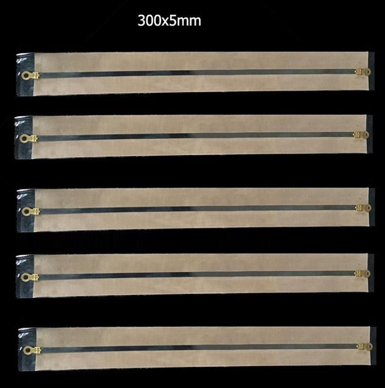 5 bộ dây nhiệt và màng chống dính thay thế máy ép túi nhựa nilon 300x5mm