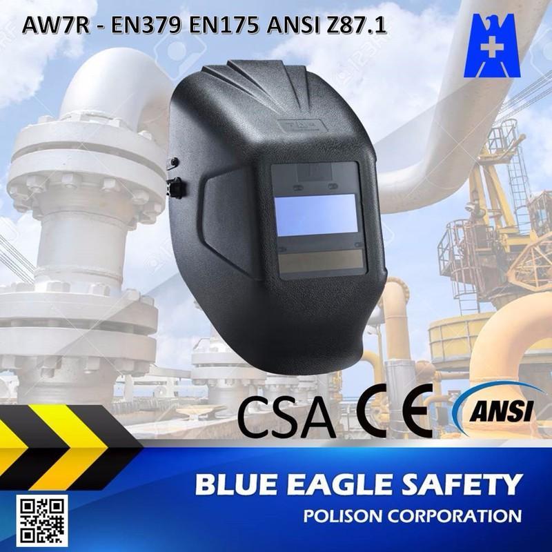 Mặt nạ hàn tự động Blue Eagle AW7R dùng pin sạc