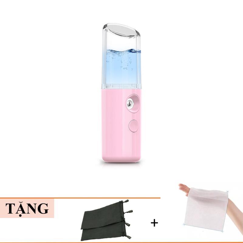 Máy Phun Sương Cầm Tay Giữ Ẩm Hình Son Môi- Máy phun sương xịt khoáng mini, Nano Mist Spray, Kaya Accessories cao cấp