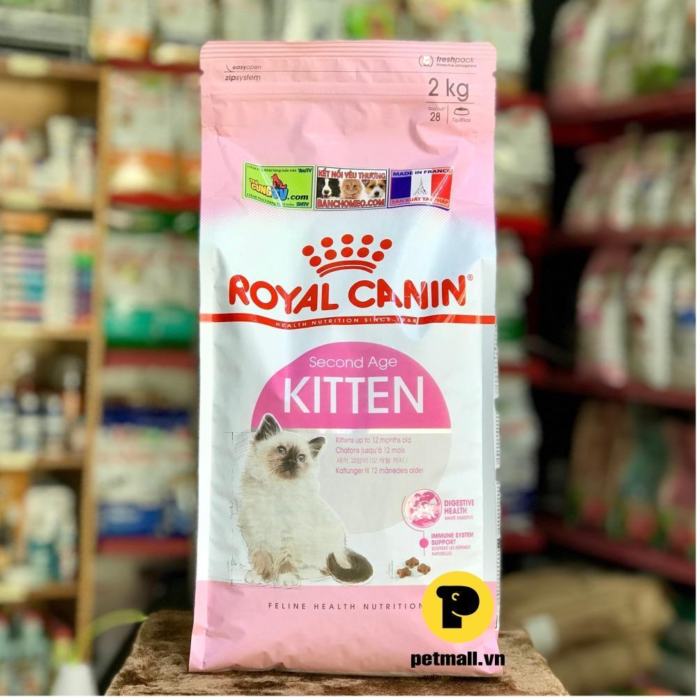 Bán Thức Ăn Hạt Royal Canin Kitten 2Kg Nhập Khẩu