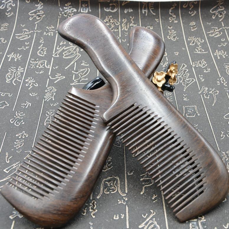 Lược gỗ đàn hương đen Mã 1901 nhập khẩu