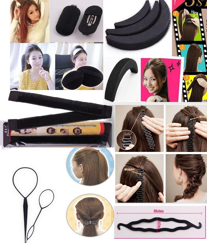 Bộ dụng cụ tạo kiểu tóc đa năng 12 món
