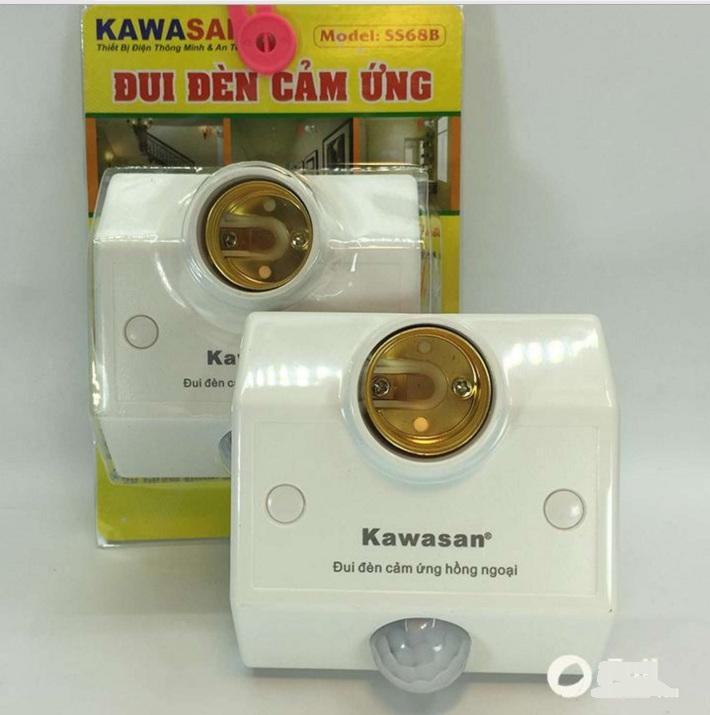 Đui đèn cảm ứng chuyển động hồng ngoại kawasan KW SS68B