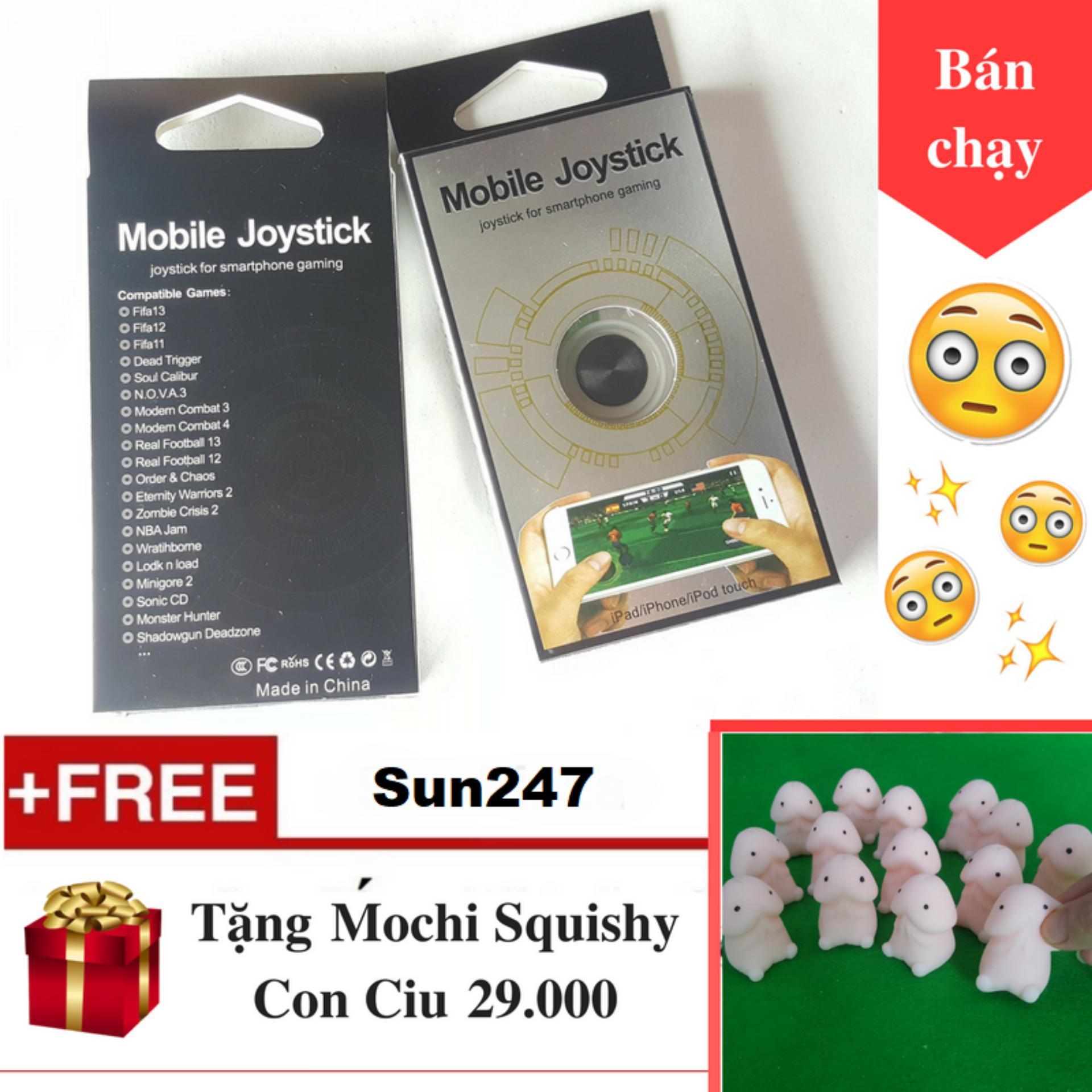 Hình ảnh Joystick Nano + Tặng Mochi Con Ciu Không Móc - Nút Bấm Chơi Game Dành Cho Game Thủ Mobile