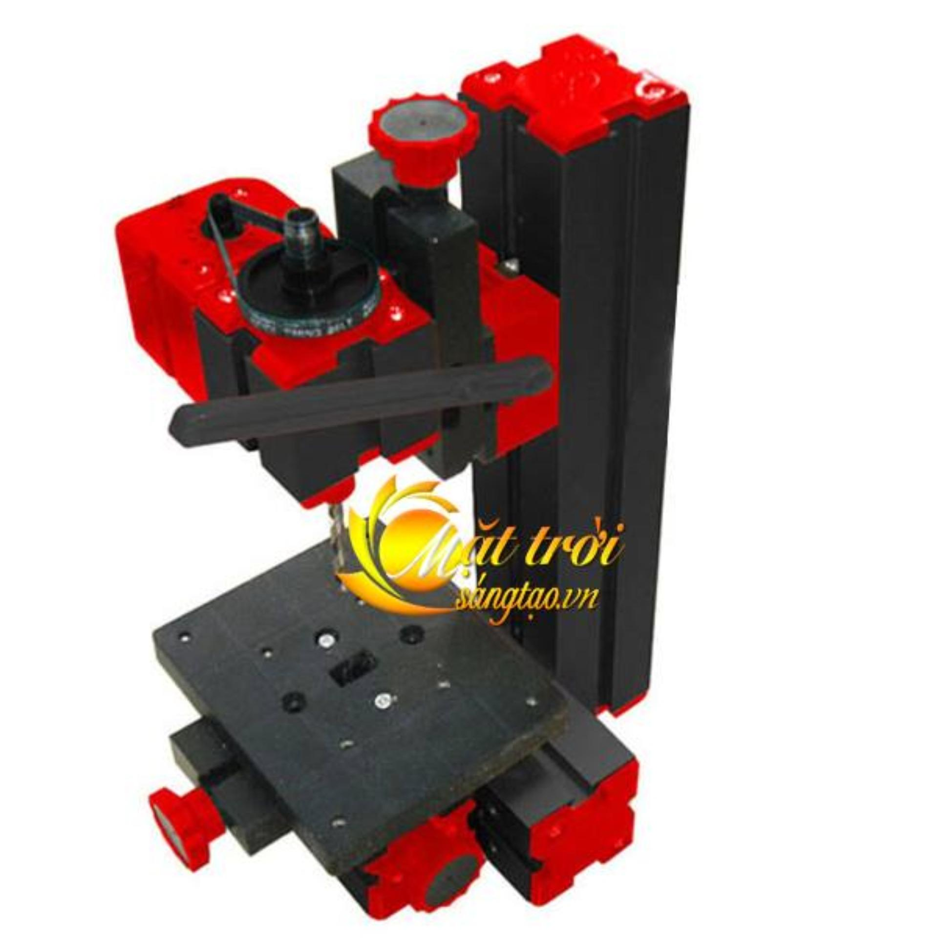 Hình ảnh Bộ công cụ gia công đa năng mini 6in1 ( cưa, mài, khoan, tiện gỗ, tiện kim loại, phay)
