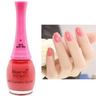 Sơn móng tay siêu sang chảnh Aroma Nails Lacquer Cao cấp Hàn Quốc No.42 (Hồng thạch) 12ml thumbnail