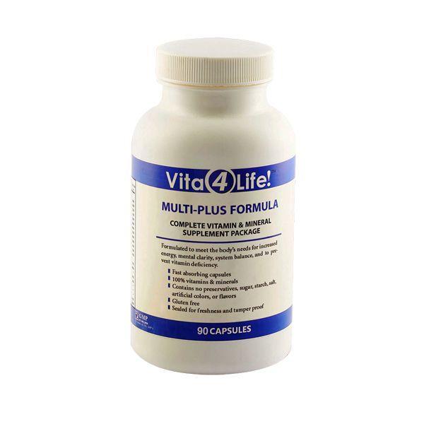 Sản phẩm độc quyền bổ sung Vitamin MULTI PLUS FORMULA chính hãng