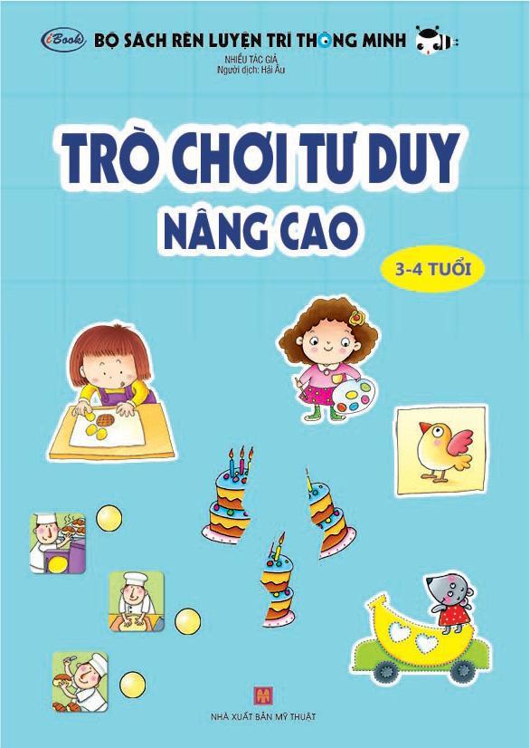 Mua Trò Chơi Tư Duy - Nâng Cao (Dành cho trẻ 3-4 tuổi)