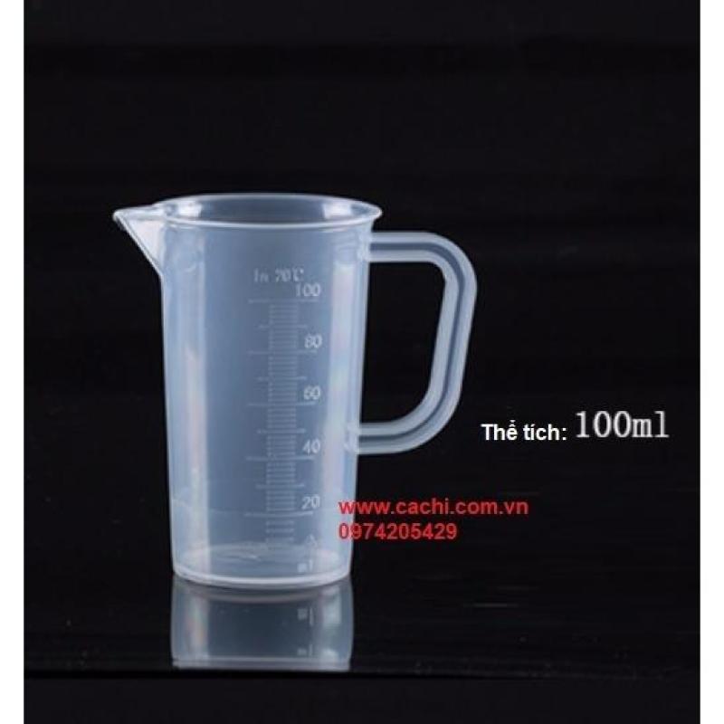 Ca nhựa chia vạch 100ml