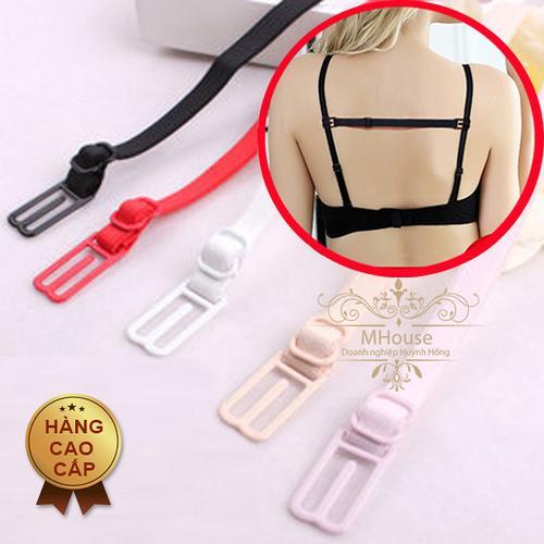 Giá bán Combo 3 dây cố định áo ngực tránh tuột dây. Giấu dây áo sát nách, áo ba lỗ.